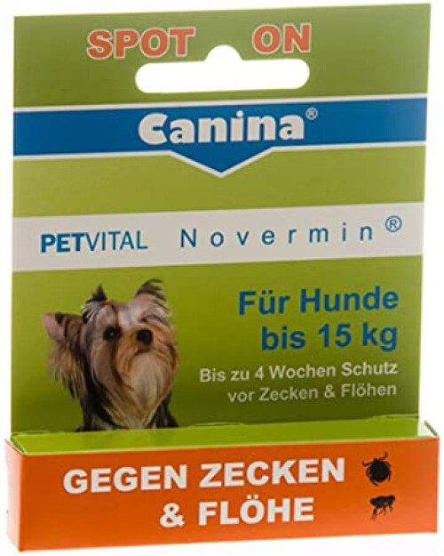 Canina Petvital Novermin spot-on 2 ml