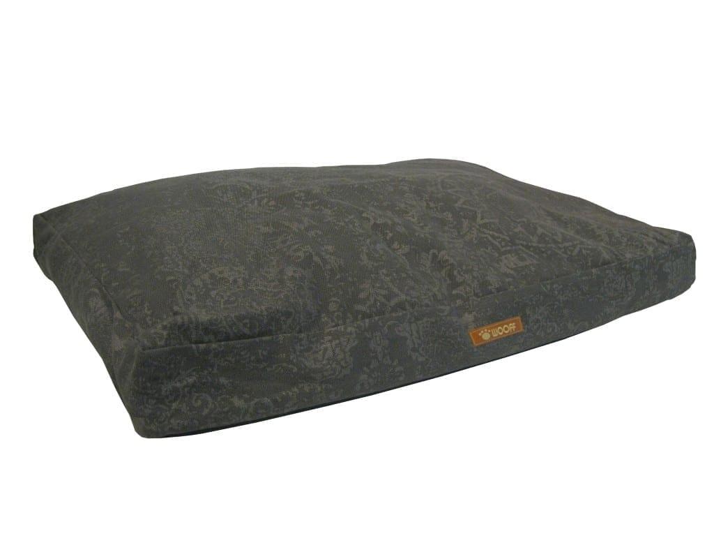 Wooff ležaj PATCHWORK - antracit 70x110x15cm