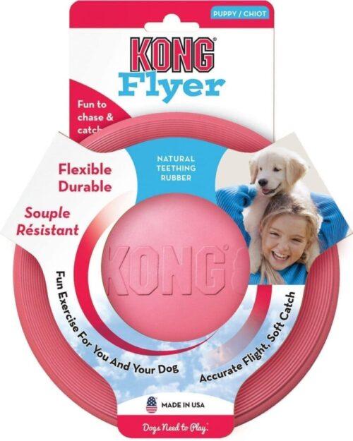 Kong Flyer Puppy - frizbi - S veličina