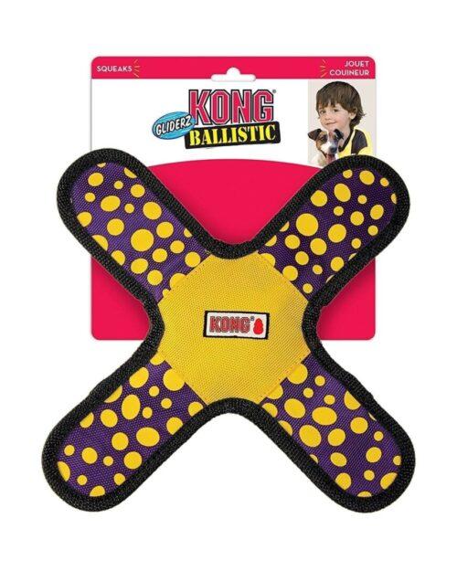 KONG BALLISTIC GLIDERZ - igračka - S veličina