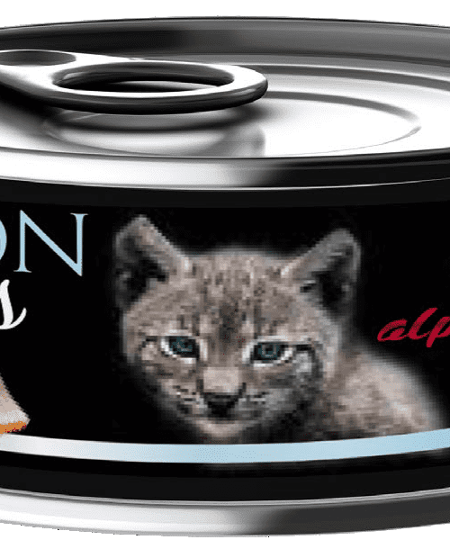 Alpha Spirit - za mačiće, losos 85g