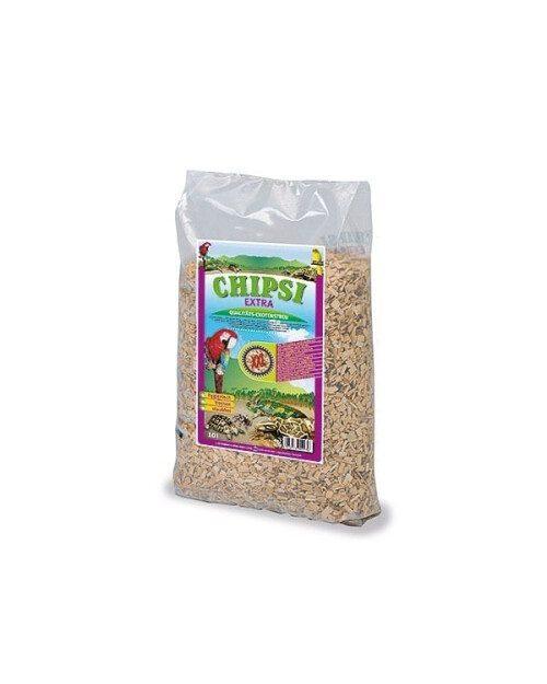 Chipsi Extra XXL, drveni granulat za ptice, glodavce i gmazove 10l