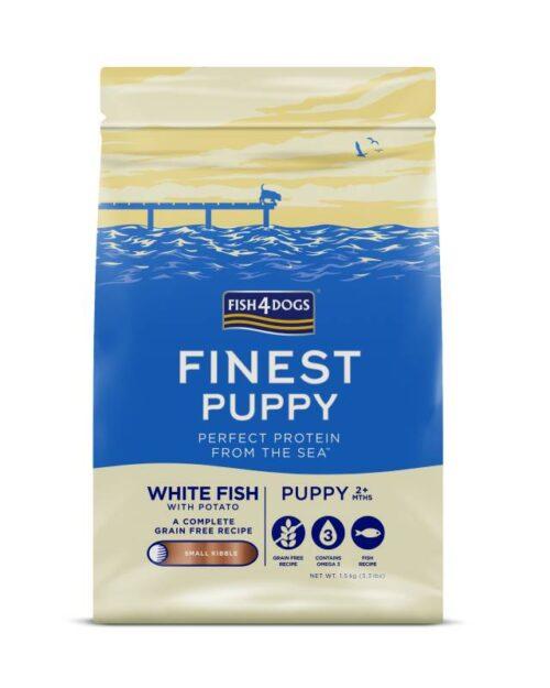 Fish4Dogs Puppy bijela riba