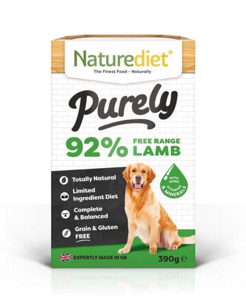 NatureDiet Purely - Janjetina 390g
