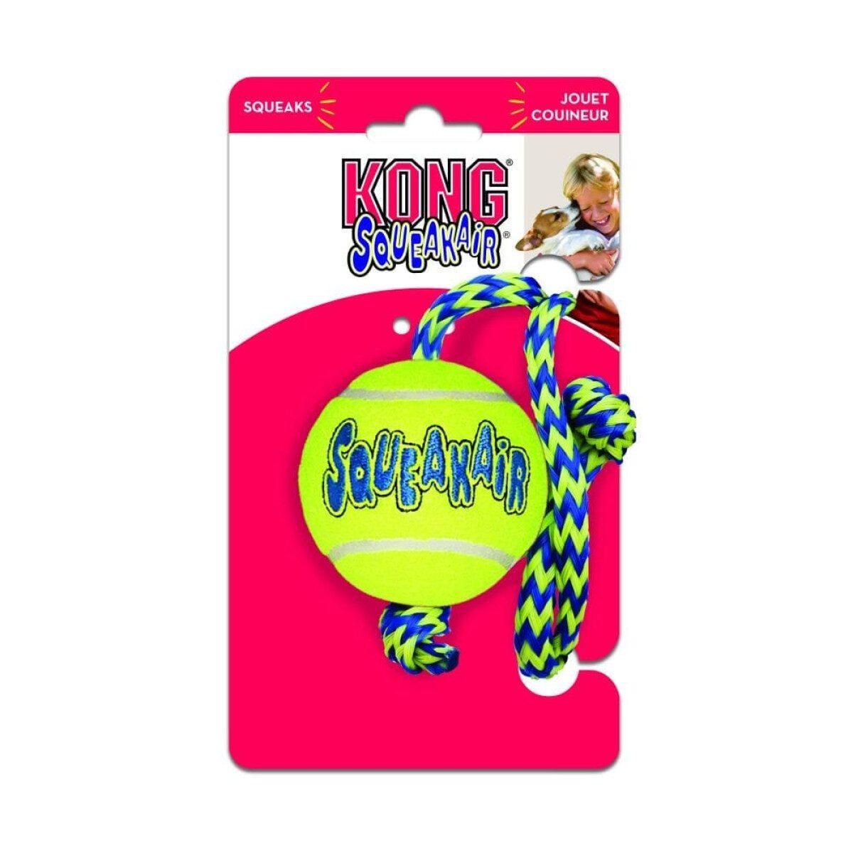 Kong SqueakAir loptica sa špagom