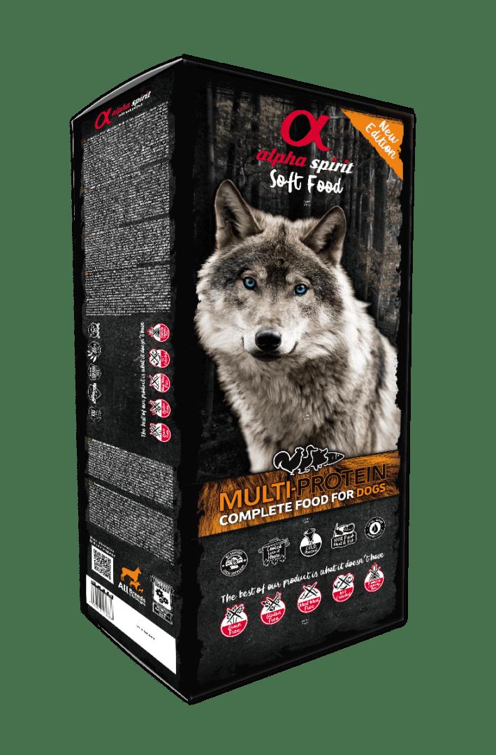 Alpha Spirit Multiprotein - potpuna, mekana hrana za pse 9kg