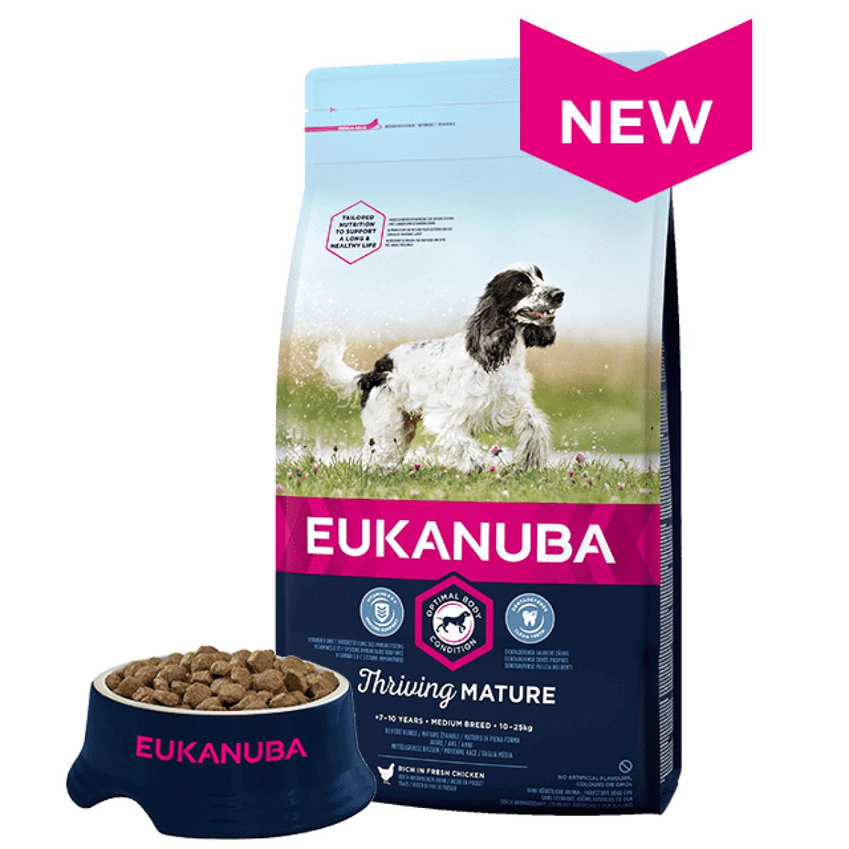 Eukanuba Mature Medium 12kg
