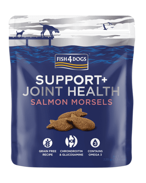 Fish4Dogs Support+ poslastice - Joint Health Salmon morsels 225g