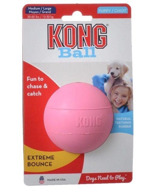 Kong Puppy lopta s rupom - M/L veličina