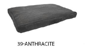 Wooff madrac - Stonewash 55x75x15, antracit
