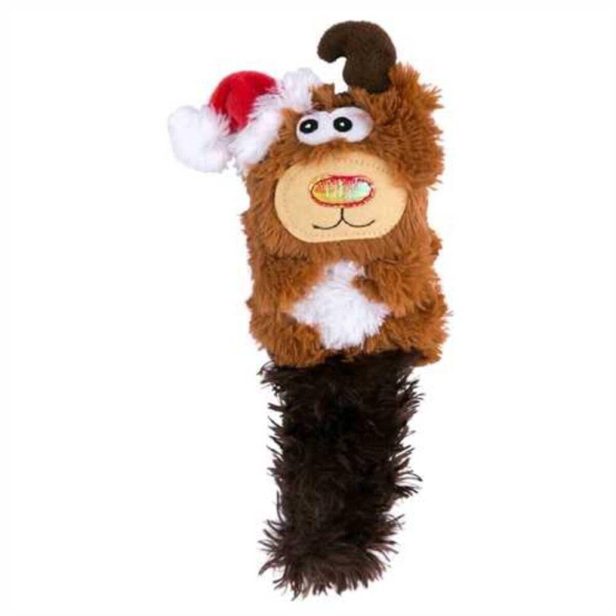 Kong božićni Kickeroo Sob, igračka za mačke