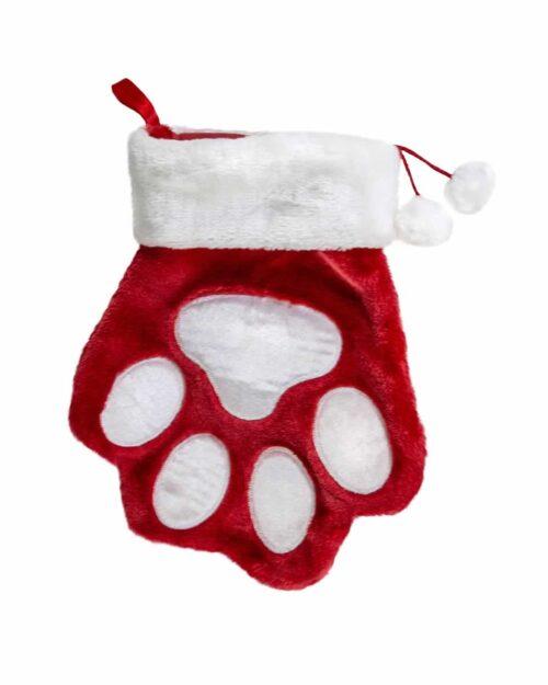 Kong božićna čarapa - šapa