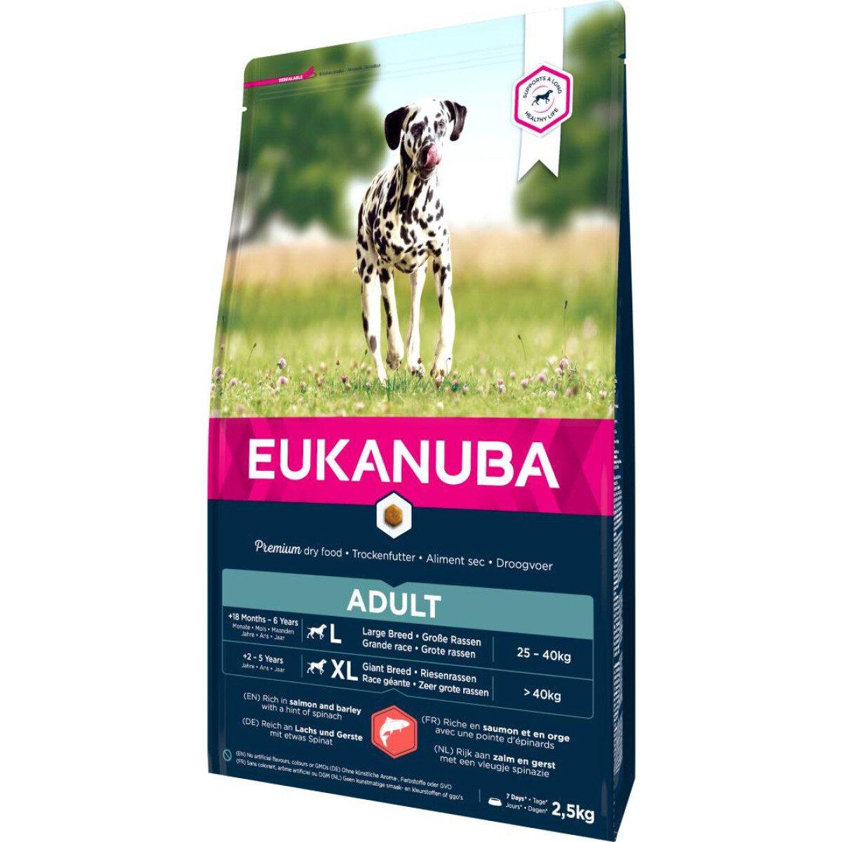 Eukanuba Losos i riža za velike pasmine