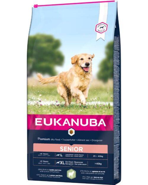 Eukanuba Senior za velike pasmine, janjetina i riža 12kg