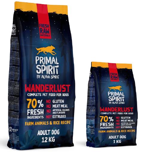 Primal Spirit - Wanderlust 70% - 1 kg