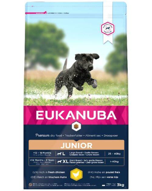 Eukanuba Junior L/XL 3kg