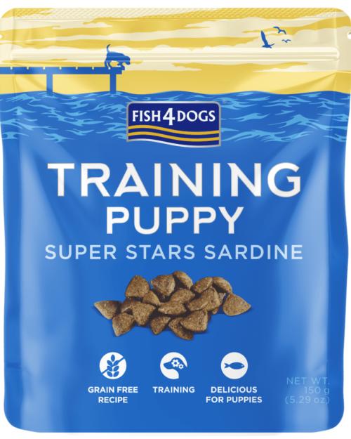 Fish4Dogs Puppy Super Stars Sardine 150g